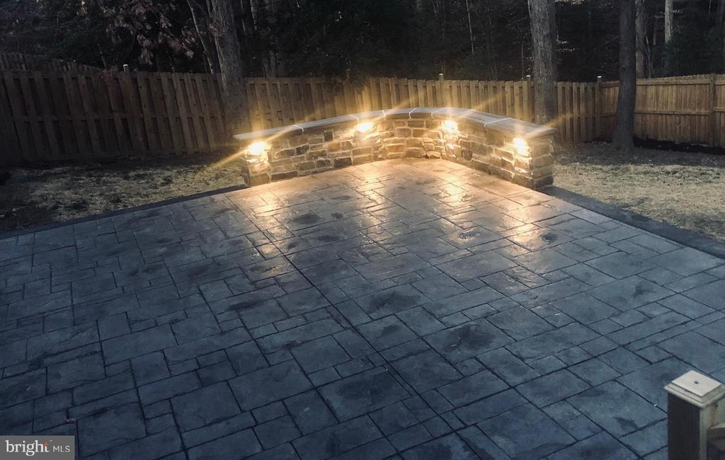 Brand new patio - 5 APPLE BLOSSOM CT, STAFFORD