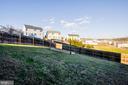 fully fenced in rear yard - 75 CHAPS LN, FREDERICKSBURG