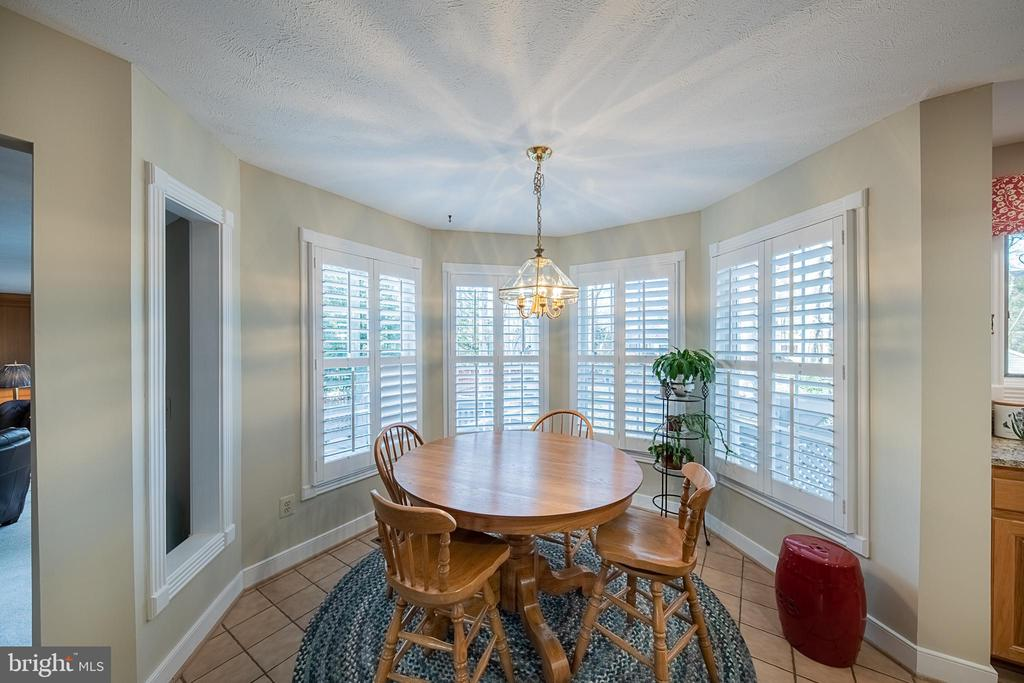 Breakfast room is perfect to spend your mornings - 43260 PRESTON CT, ASHBURN