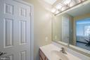 Two bedrooms have Jack+Jill bath - 43260 PRESTON CT, ASHBURN