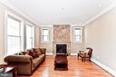 Living Room - 2710 24TH ST NE, WASHINGTON