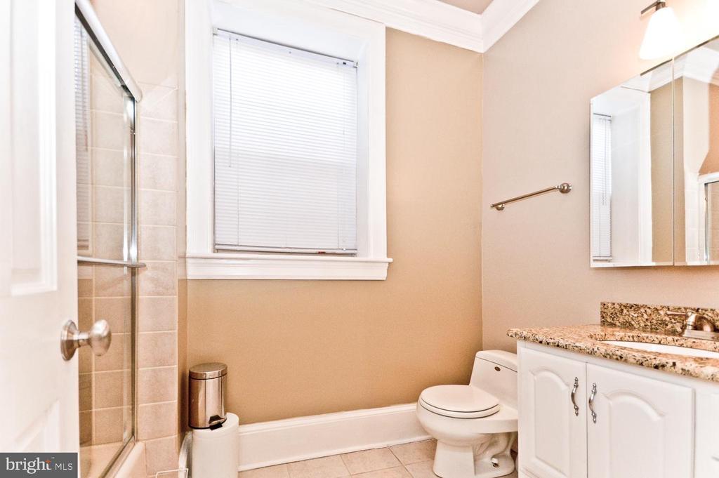 Lower Level Full Bathroom - 2710 24TH ST NE, WASHINGTON