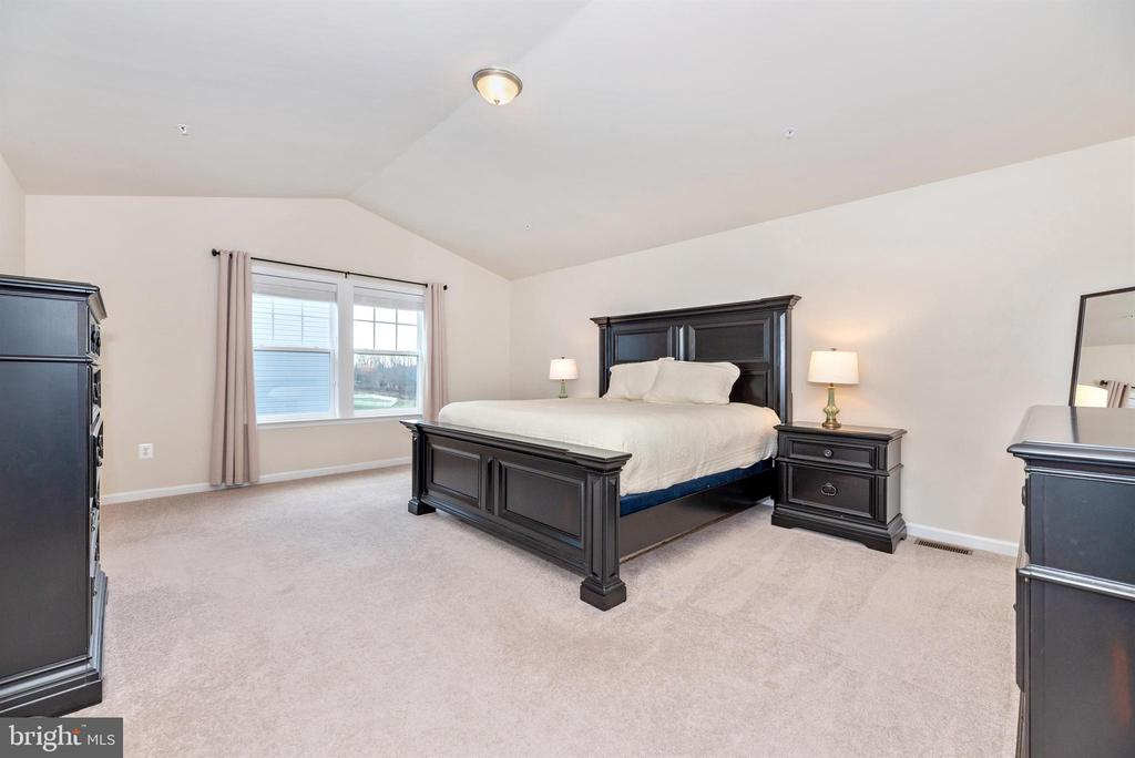 Master Bedroom  w/ Vaulted Ceiling - 104 PORTS CIR, WALKERSVILLE