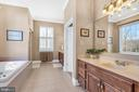 Owner's luxury bath - 36704 SNICKERSVILLE TPKE, PURCELLVILLE
