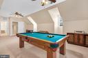 Bonus room over the garage - 36704 SNICKERSVILLE TPKE, PURCELLVILLE