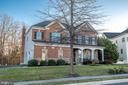 Brick and stone front Winchester home - 25638 ELK LICK RD, CHANTILLY