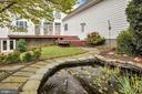 Backyard pond - 36704 SNICKERSVILLE TPKE, PURCELLVILLE