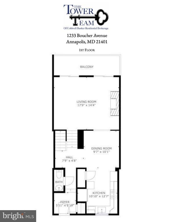 First Floor - 1233 BOUCHER AVE, ANNAPOLIS