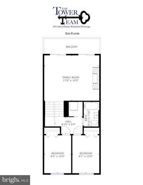 Second Floor - 1233 BOUCHER AVE, ANNAPOLIS