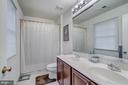 Upper Hall Bathroom - 11308 MARLBORO RIDGE RD, UPPER MARLBORO