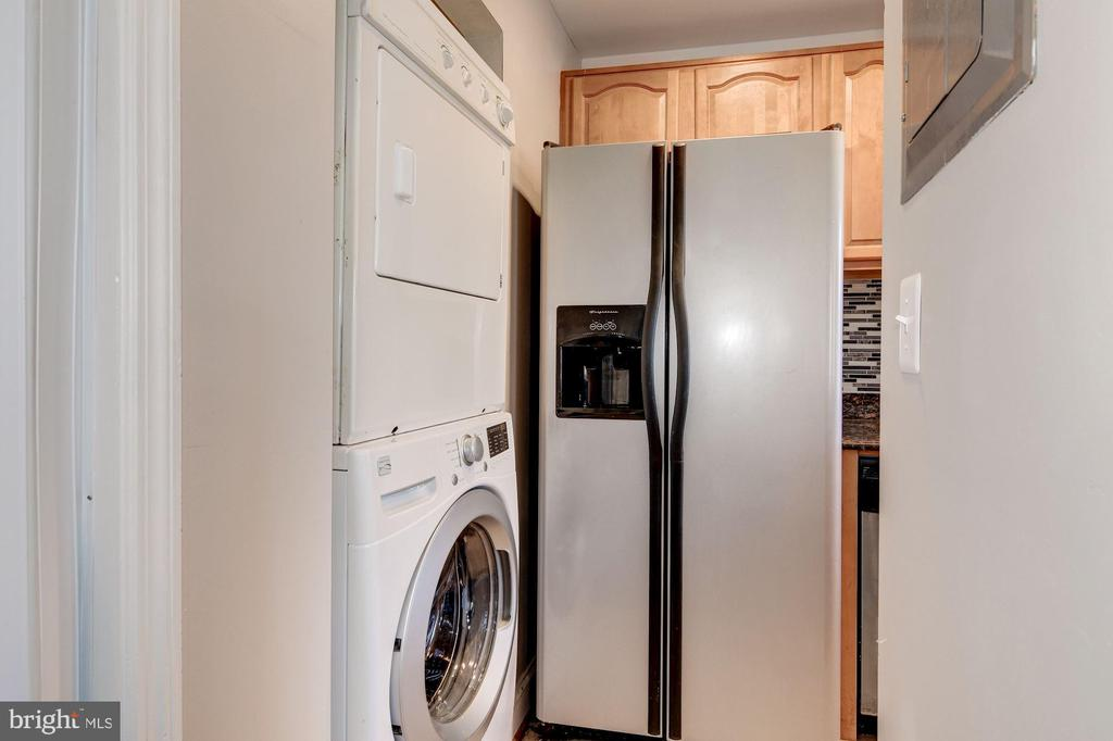 Kitchen and Laundry - 3874 9TH ST SE #102, WASHINGTON