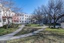 Expansive courtyard - 3874 9TH ST SE #102, WASHINGTON