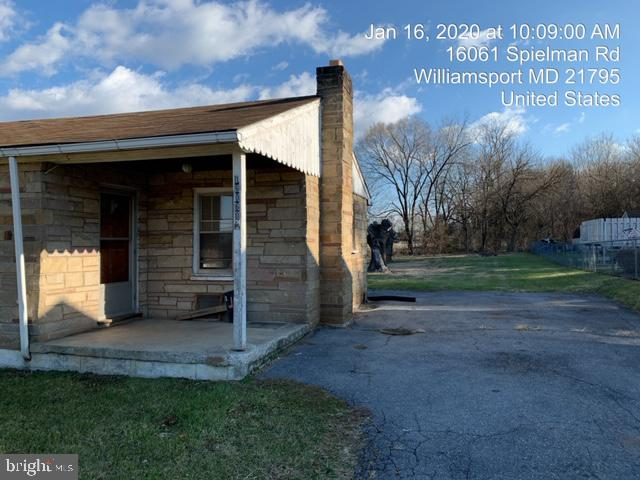 - 16060 SPIELMAN RD, WILLIAMSPORT