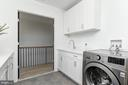 Upstairs Laundry Room - 7613 GLENBROOK RD, BETHESDA