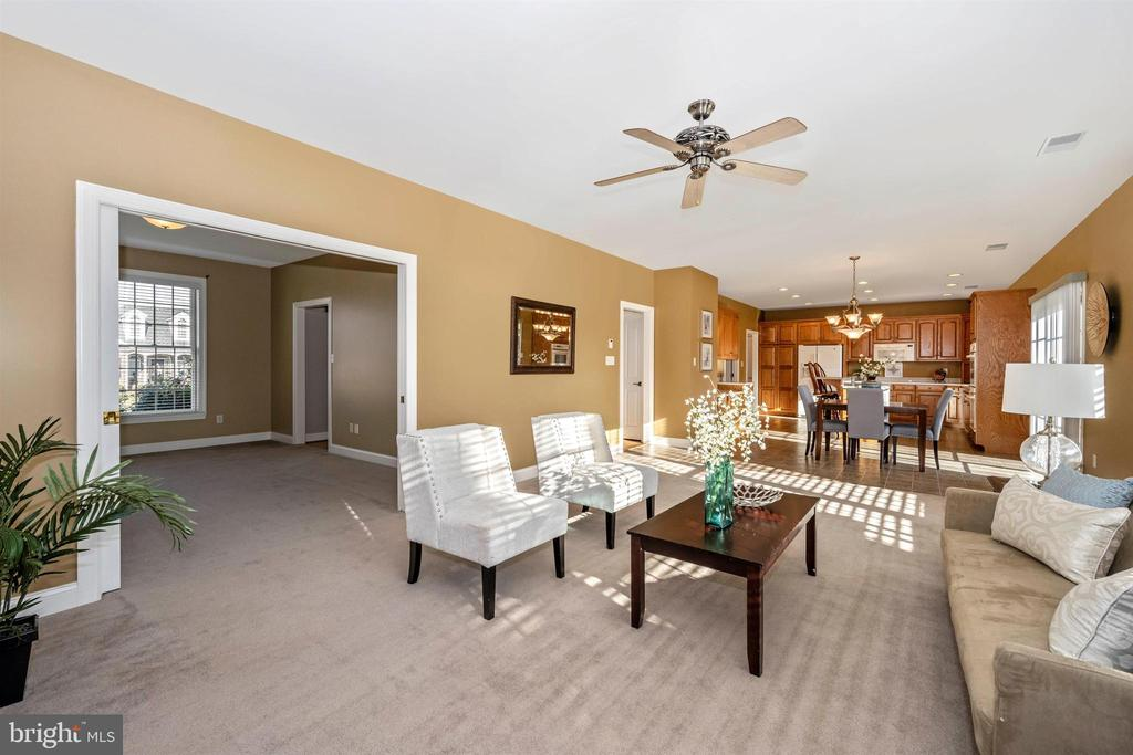 View from family rm to living room (or office) - 10616 BRATTON CT, WILLIAMSPORT