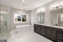 Master Bathroom - 4930 PRINCESS ANNE CT, FAIRFAX