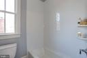window in tub and toilet area - 3465 N EMERSON ST, ARLINGTON