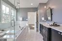 relaxation inducing master bath - 3465 N EMERSON ST, ARLINGTON