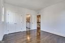 4th bedroom with wood floors - 3465 N EMERSON ST, ARLINGTON