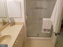 Deluxe Mast Bathroom - 3005 S LEISURE WORLD BLVD #405, SILVER SPRING