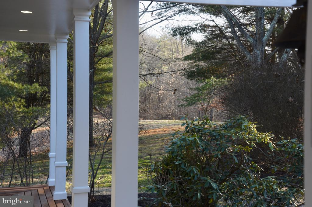 View from Front Porch - 1628 F T VALLEY RD, SPERRYVILLE