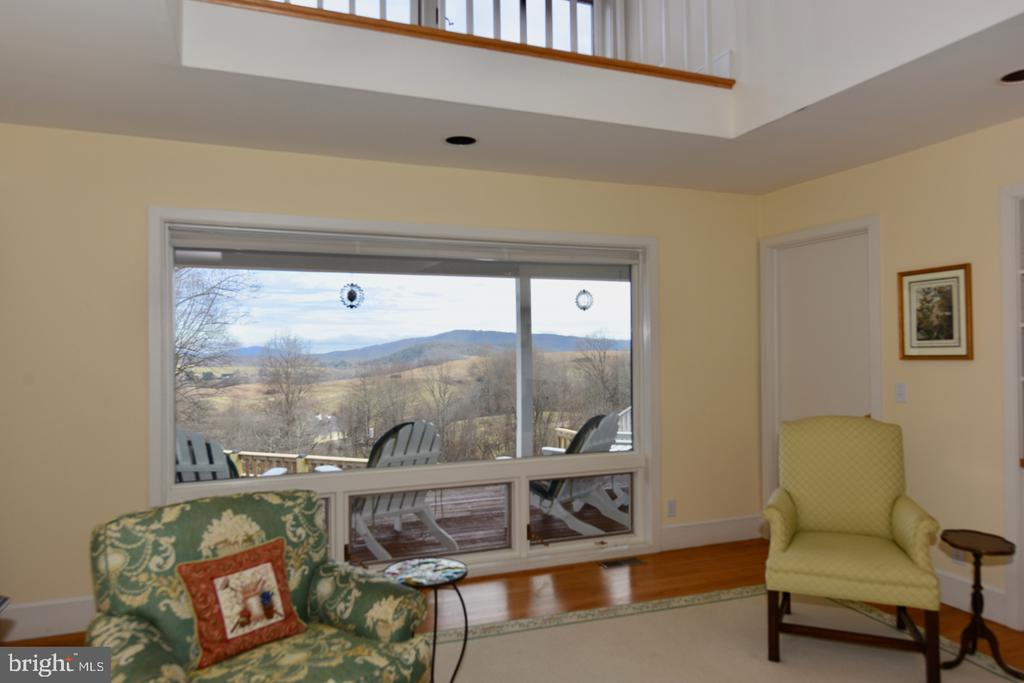 View from Living Room - 1628 F T VALLEY RD, SPERRYVILLE