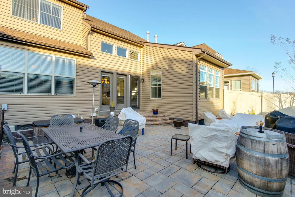 PAVED REAR PATIO - 2302 ROE LN, FREDERICK
