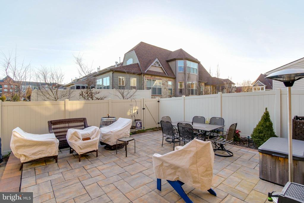 PAVED PATIO AND VINYL FENCE - 2302 ROE LN, FREDERICK