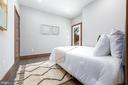 Bedroom #1 large closet and PRIVATE BALCONY - 2109 M ST NE #4, WASHINGTON