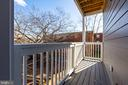 Private Balcony - 2109 M ST NE #4, WASHINGTON