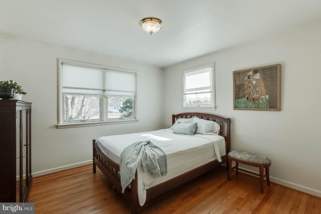 Main level bedroom, could be master suite - 12602 VALLEYWOOD DR, SILVER SPRING