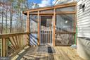 BBQ Deck off Screened Porch - 505 MONTICELLO CIR, LOCUST GROVE