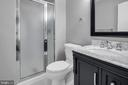 Updated master bathroom - 2053 SWANS NECK WAY, RESTON