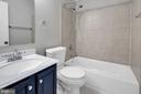 Updated hall bath - 2053 SWANS NECK WAY, RESTON