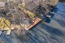 Overview of dock - 2053 SWANS NECK WAY, RESTON