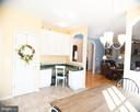 kitchen corner looking into family room - 20176 MOUNTAIN TRACK RD, ORANGE