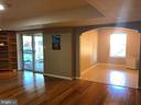 Lower Level Living Space - 812 MORAN DR, ANNAPOLIS