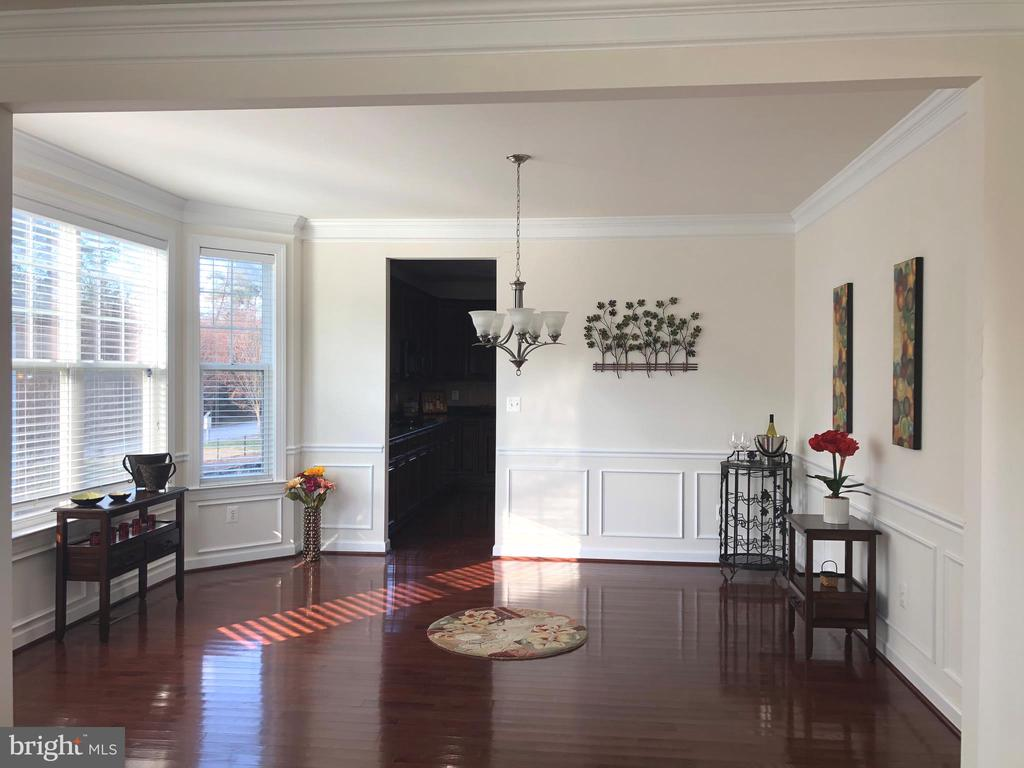 Dining Area with Bay Window - 812 MORAN DR, ANNAPOLIS