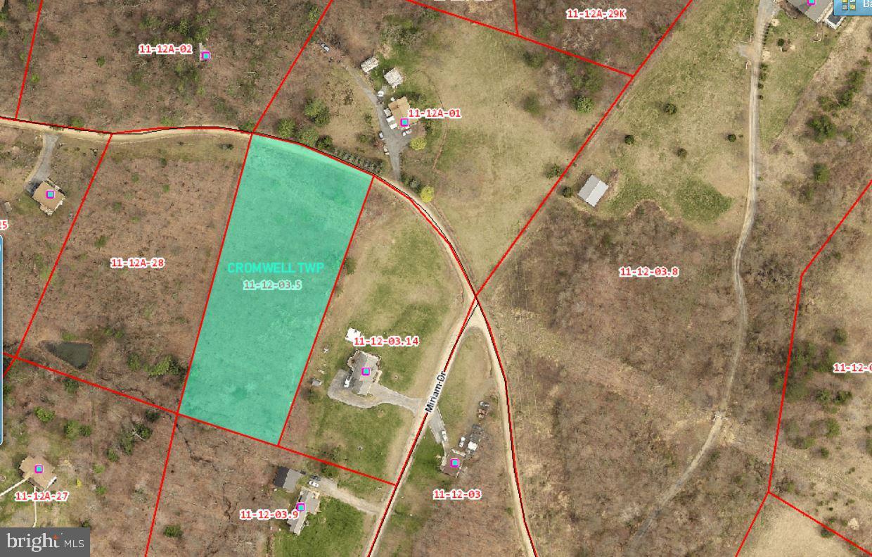 Terrain pour l Vente à Three Springs, Pennsylvanie 17264 États-Unis