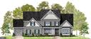 Farmhouse Elevation Option with garage option - 1511 BEAUX LN, GAMBRILLS