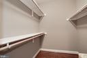 Walk-In Closet - 16727 BOLD VENTURE DR, LEESBURG