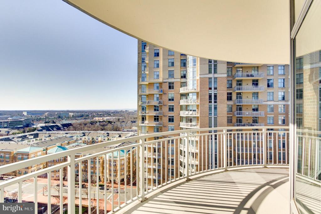 Balcony View - 11990 MARKET ST #1401, RESTON