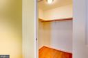 Bedroom 2 Closet - 11990 MARKET ST #1401, RESTON