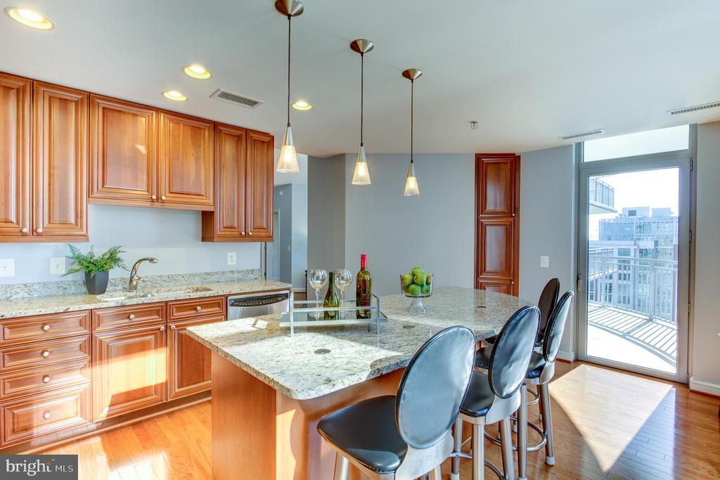 Kitchen - 11990 MARKET ST #1401, RESTON