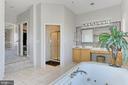 master bath - 18374 KINGSMILL ST, LEESBURG