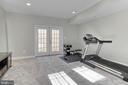 Exercise room in basement - 18374 KINGSMILL ST, LEESBURG