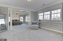 Sitting room in master bedroom - 18374 KINGSMILL ST, LEESBURG