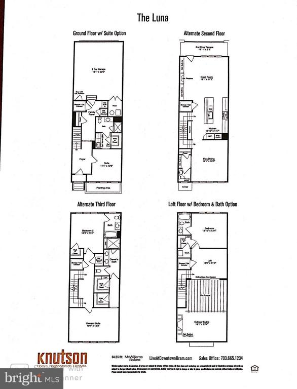 Floor plan - 42388 SOAVE DR, BRAMBLETON