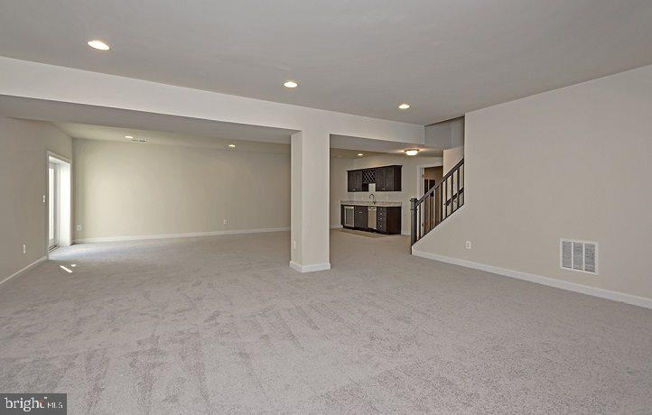 Basement- Similar Home - 42816 SOUTHER DR, CENTREVILLE