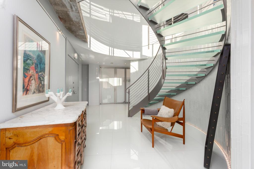 Stairs to penthouse - 2510 VIRGINIA AVE NW #1409-N, WASHINGTON